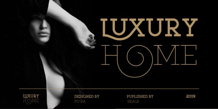 Luxury Home Font