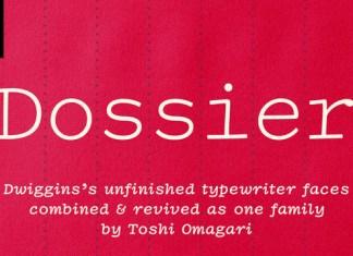 Dossier Font