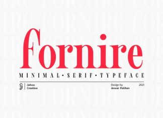 Fornire Font