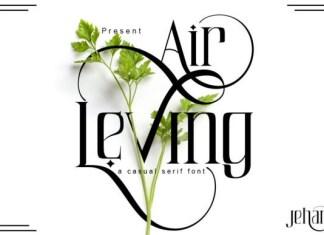 Air Leving Font