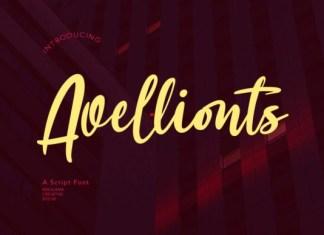 Avellionts Font