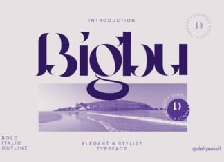 Bigbury Font