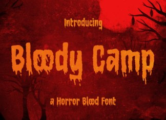 Bloody Camp Font