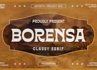 Borensa Font