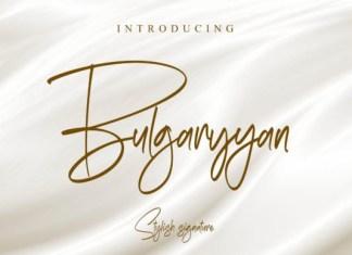 Bulgaryyan Font