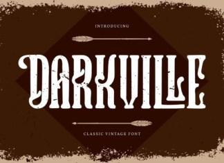 Darkville Font