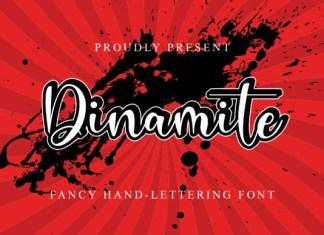 Dinamite Font