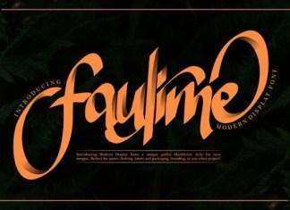 Faulime Font