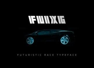 FUIXG  Font