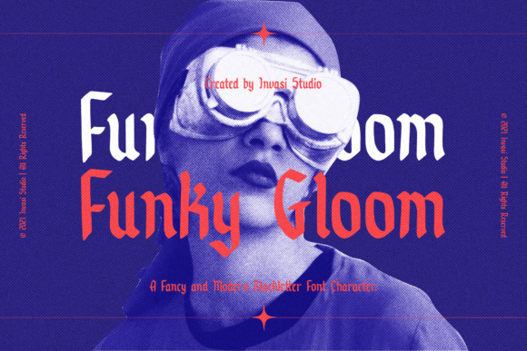 Funky Gloom Font
