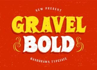 GravelBold Font