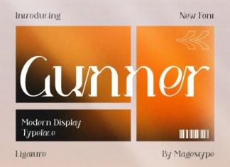 Gunner Font