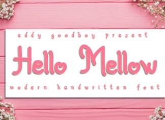 Hello Mellow Font