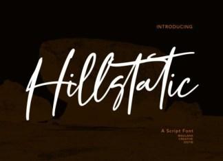 Hillstatic Font