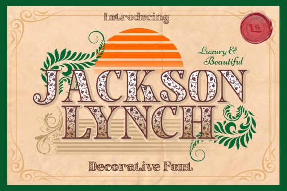 Jacksonlynch Font