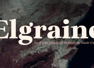 Elgraine Font