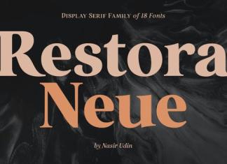 Restora Neue Font