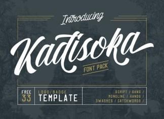 Kadisoka Font