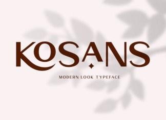 Kosans Font