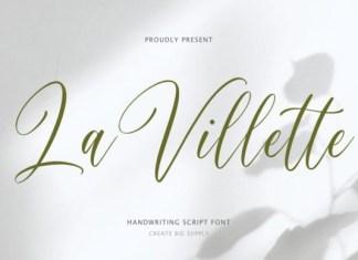 La Villette Font