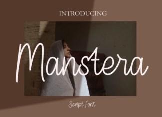 Manstera Font