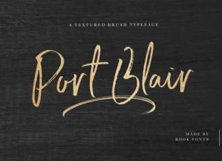 Port Blair Font