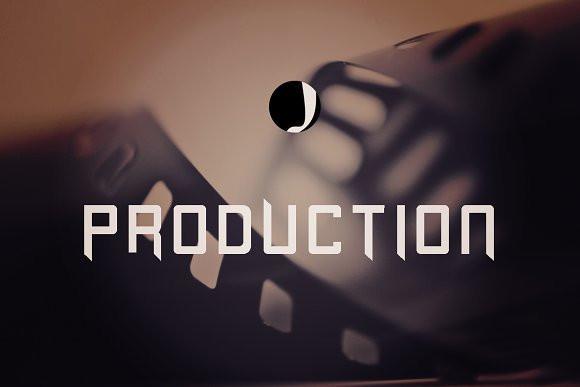 Production Font