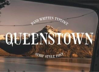Queenstown Font
