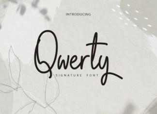 Qwerty Font