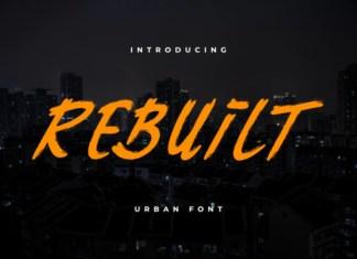 Rebuilt  Font