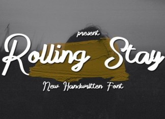 Rolling Stay Font