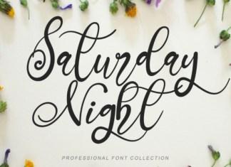 Saturday Night Font