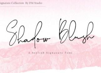 Shadow Blush Font