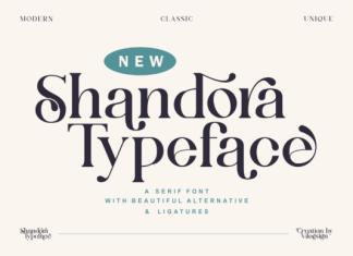 Shandora Font