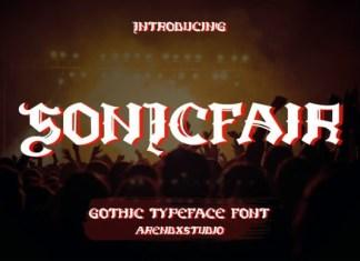 Sonicfair Font