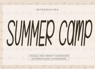 SUMMER Camp Font
