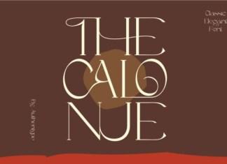 The Calonue Font