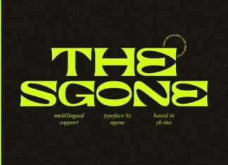 The Sgone Font