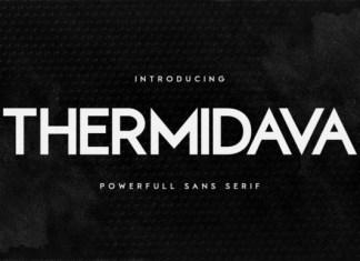 Thermindava Font