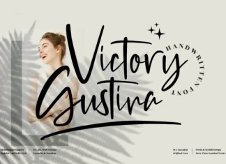 Victory Gustina Font