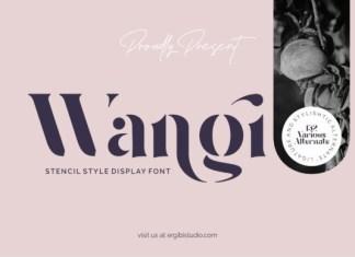 Wangi Font