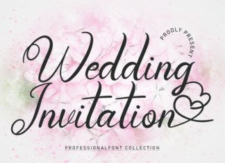 Wedding Holiday Font