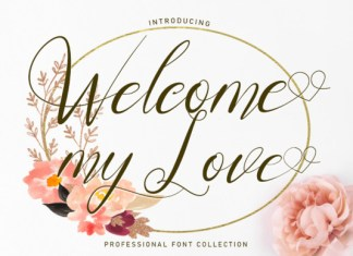 Welcome MyLove Font
