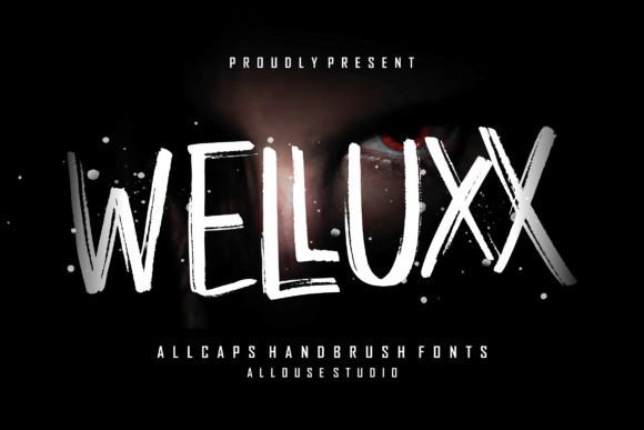 Welluxx Font