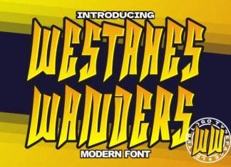 Westahes Wanders Font