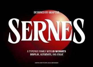 Sernes Font