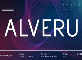 Alveru Font