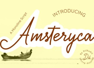 Amsteryca Font
