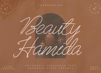 Beauty Hamida Font