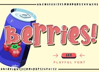 Berries Font